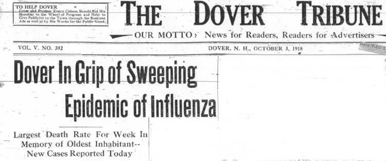 Dover flu headlines
