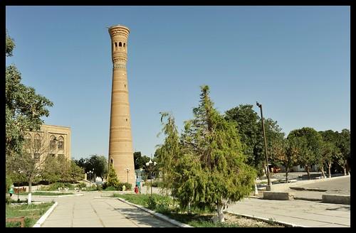 Uzbekistan_Vobkent_Minaret