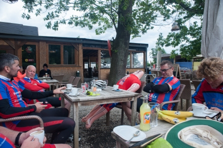 The lunchstop at Herentals, Belgium