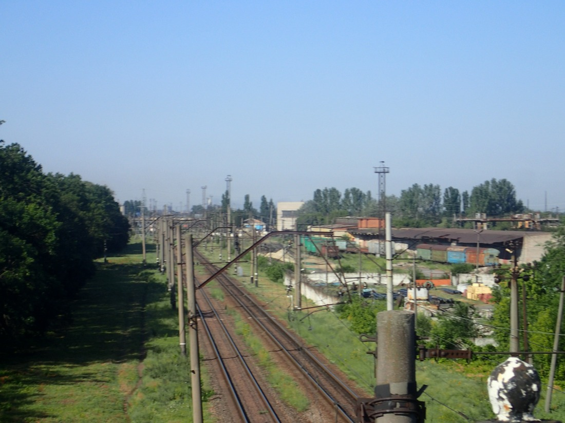 Railway yards, Ukraine