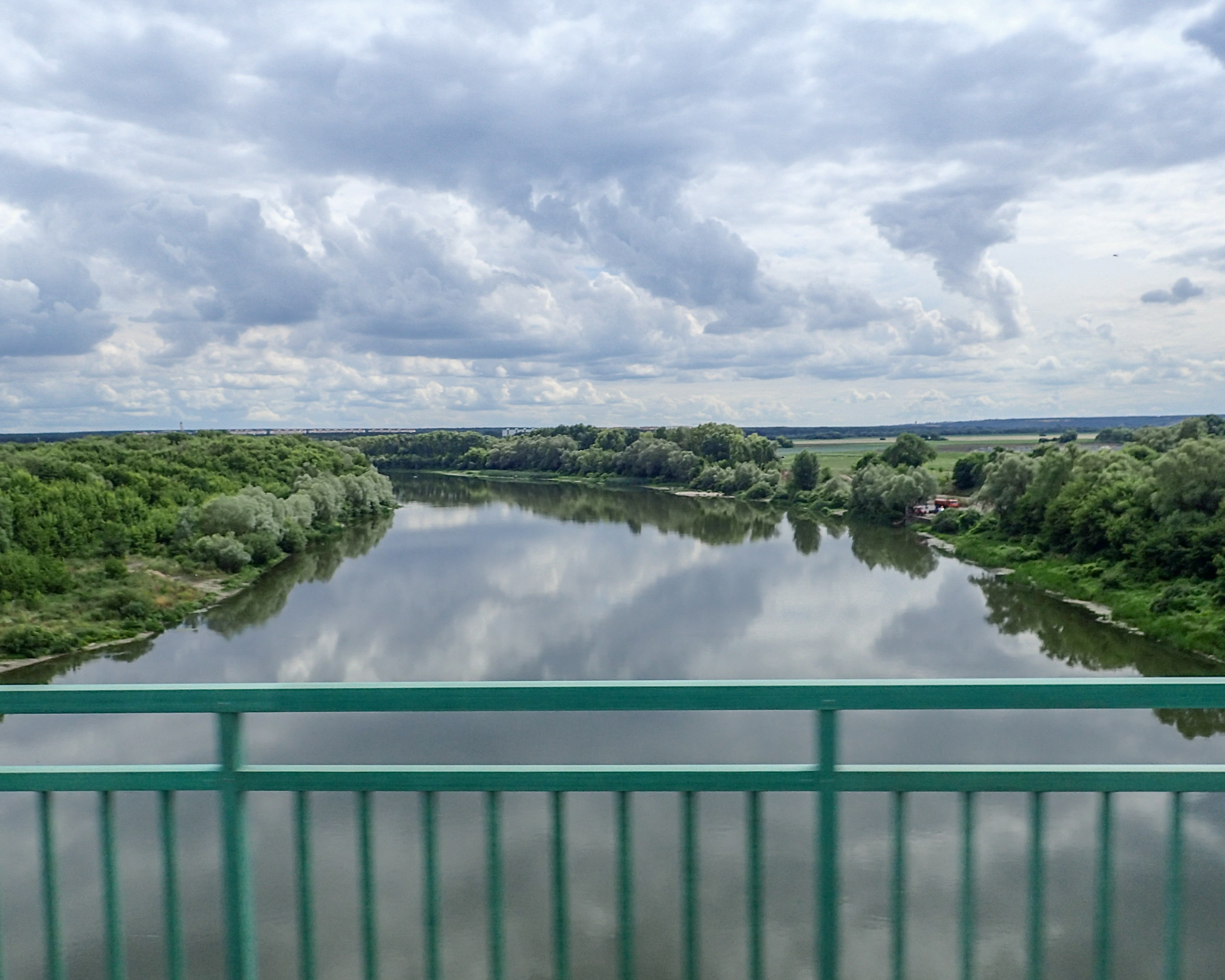'And Quietly Flows the Don'. Crossing the Don river at Volonezh