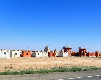 Cemetery, Kazakh style