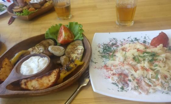 Dinner in Saratov