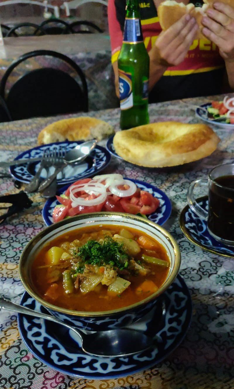 Kazakh food. Delicious.