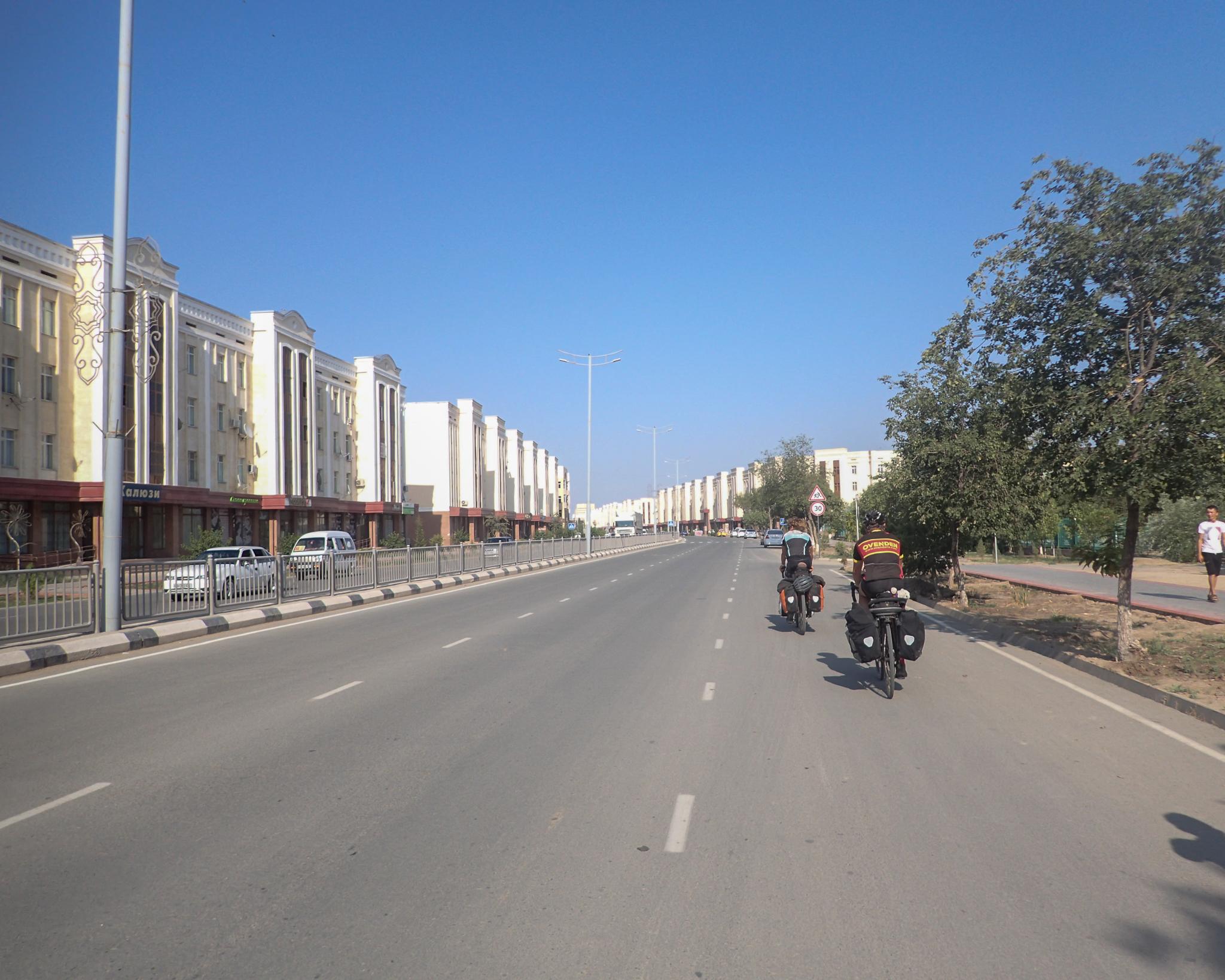 Arriving in Beruni