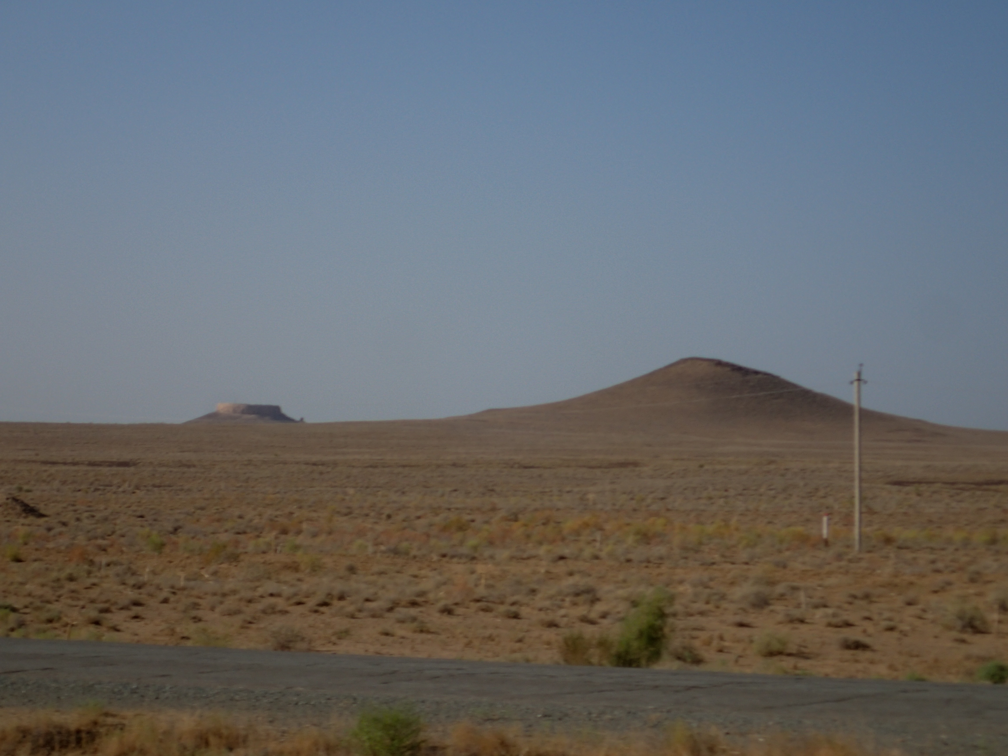 Strange rock formations - like the Wild West