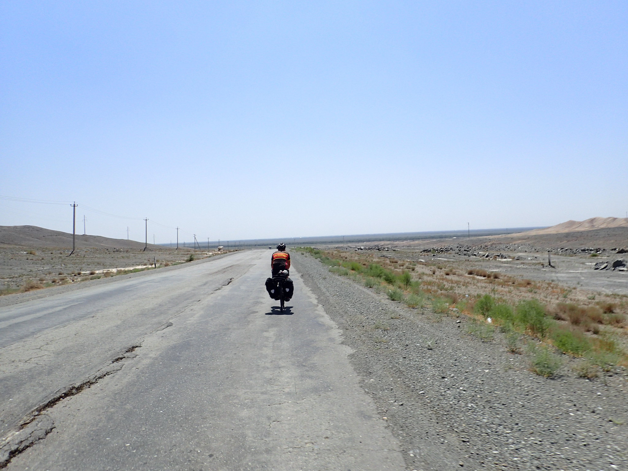Long roads and small hills