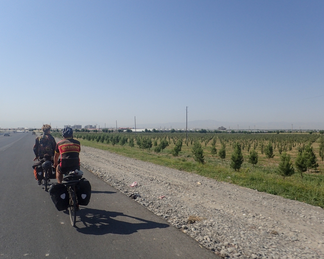 On the road to Samarkand