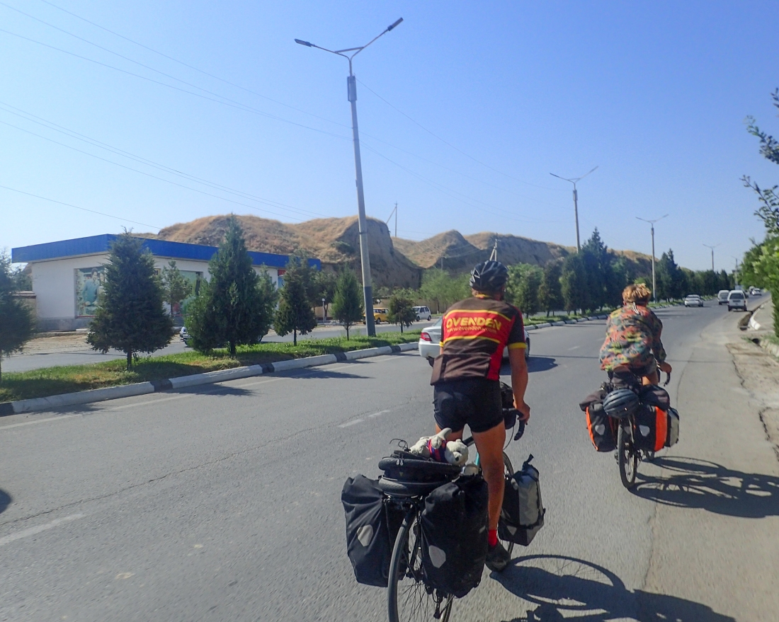 Arriving in Samarkand