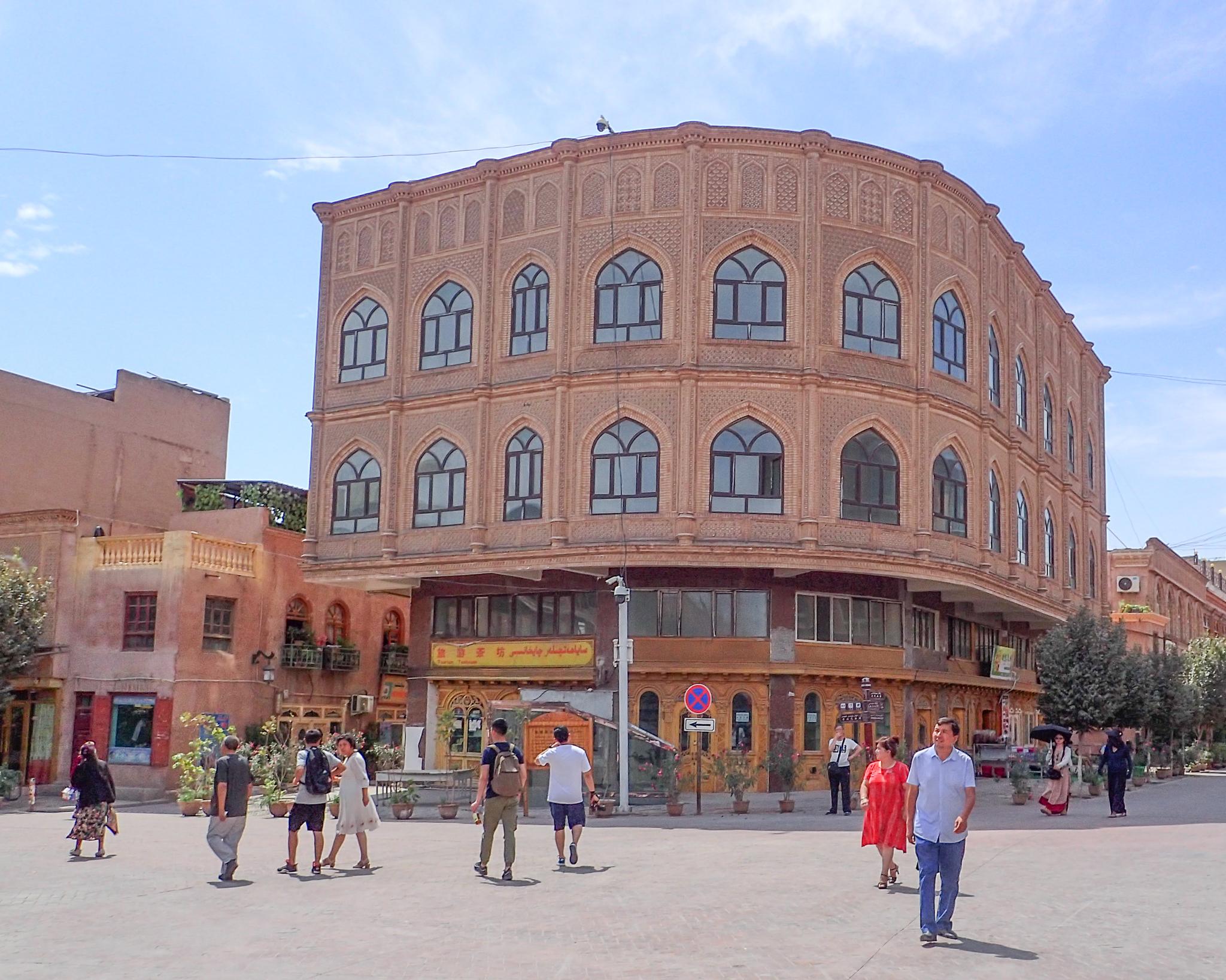 Kashgar architecture
