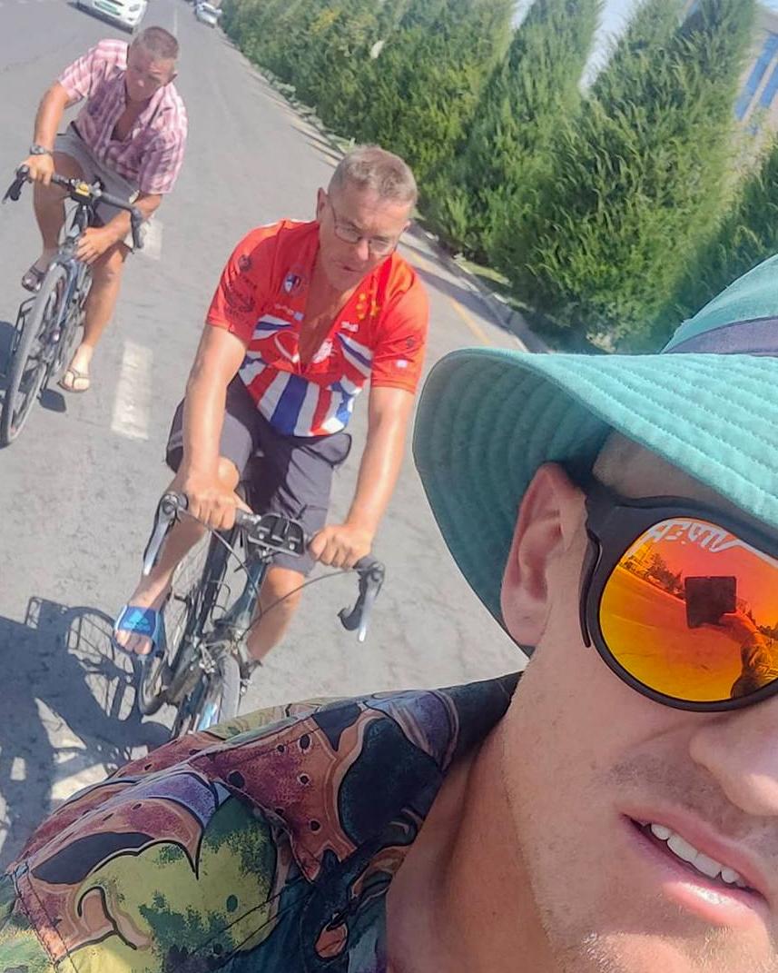 Cycling around Samarkand