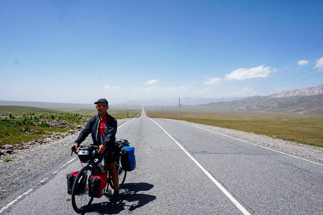 Dale on the Pamir Highway