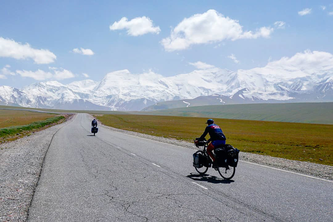 Heading towards the Pamir Mountains