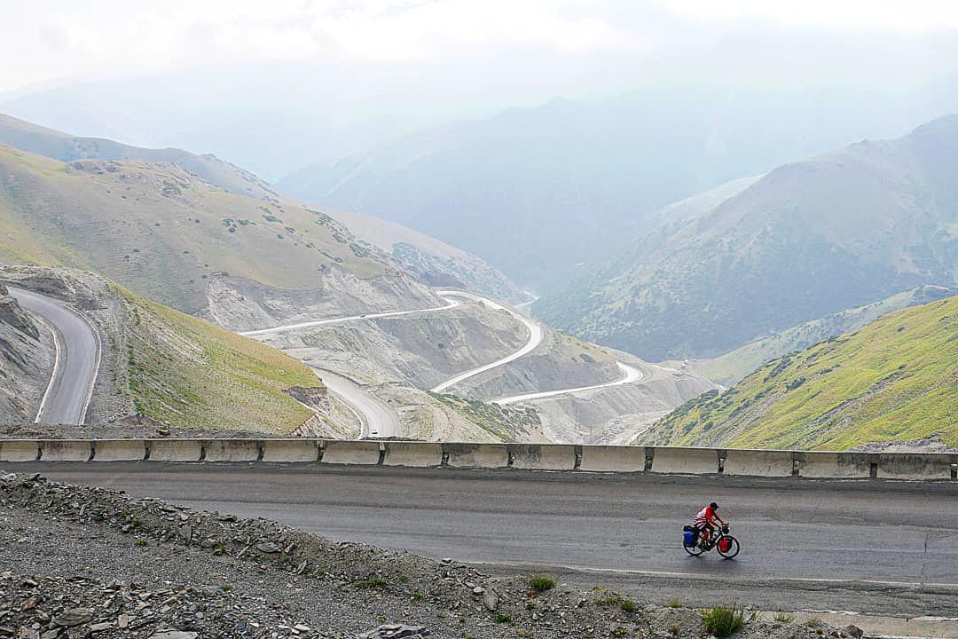 The last leg of the Taldyk Pass