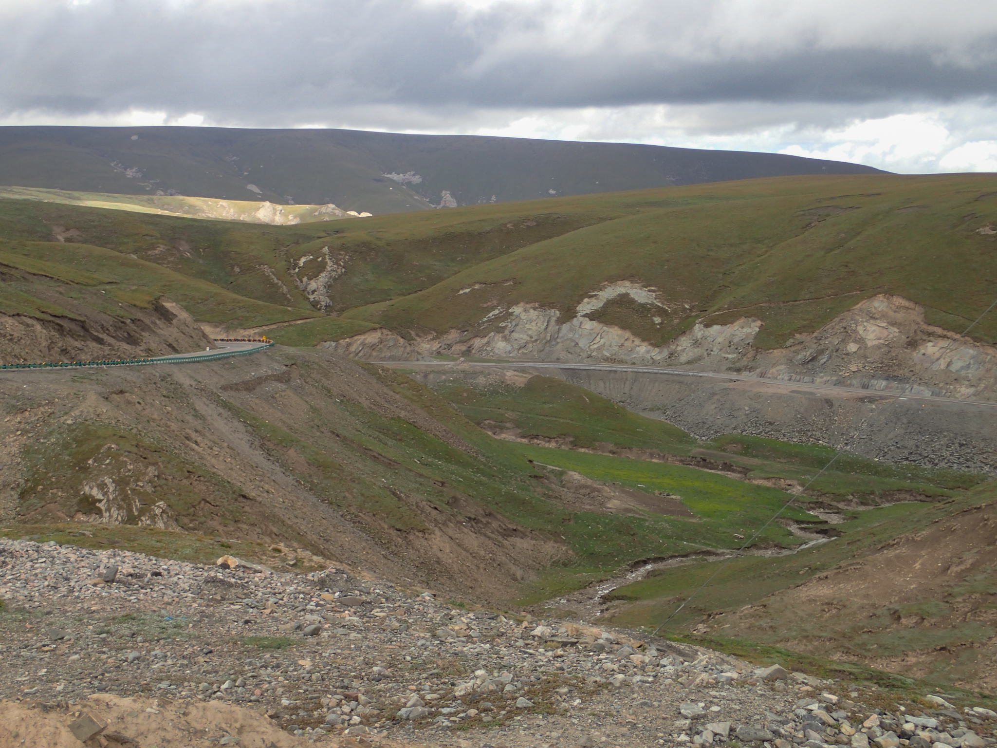 New roads through the hills
