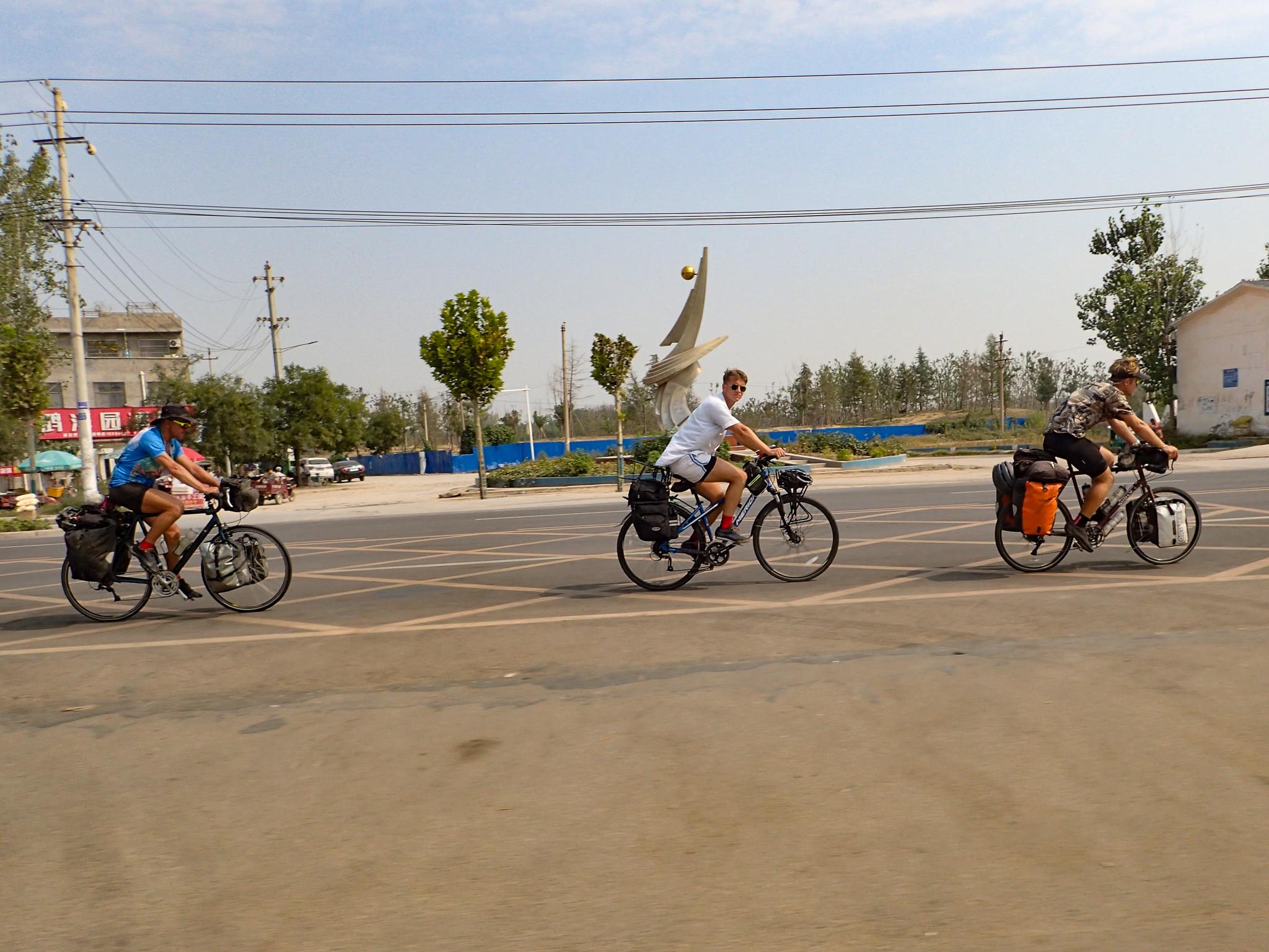 Three Amigos ride again