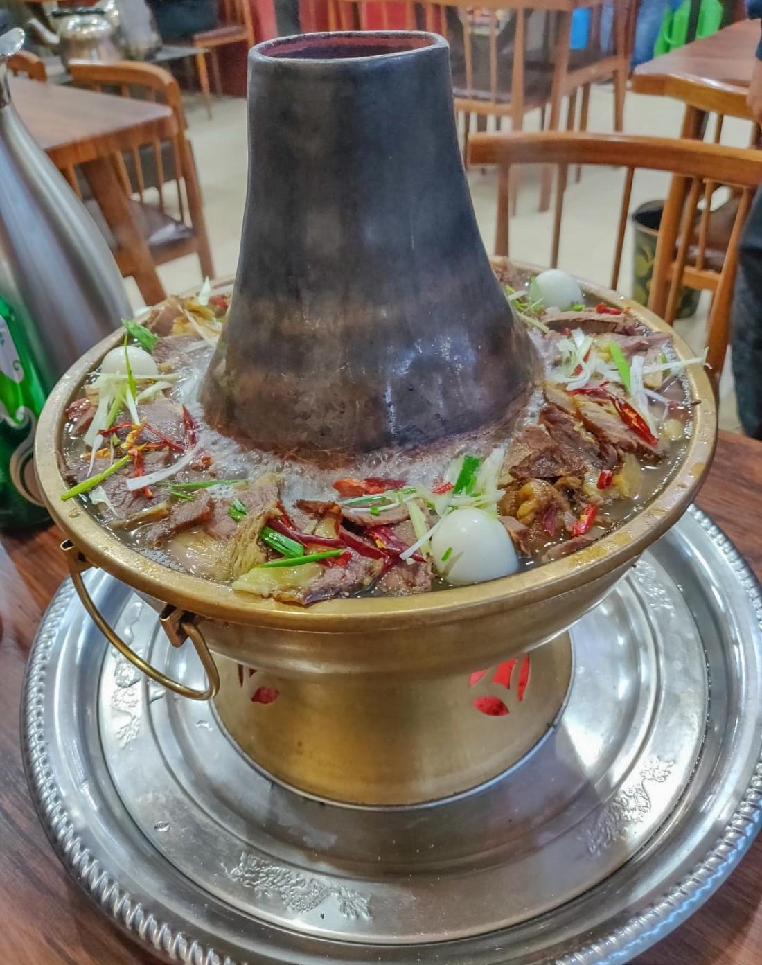 Mongolian hotpot