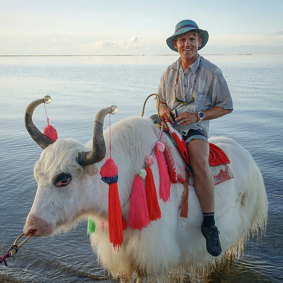 Linford, Yak riding