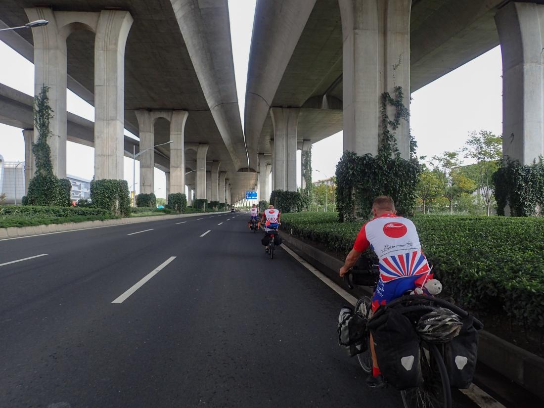 Massive underpass