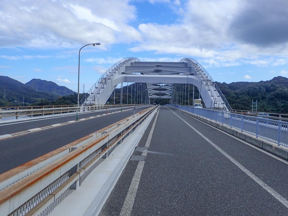 On the Omishima bridge