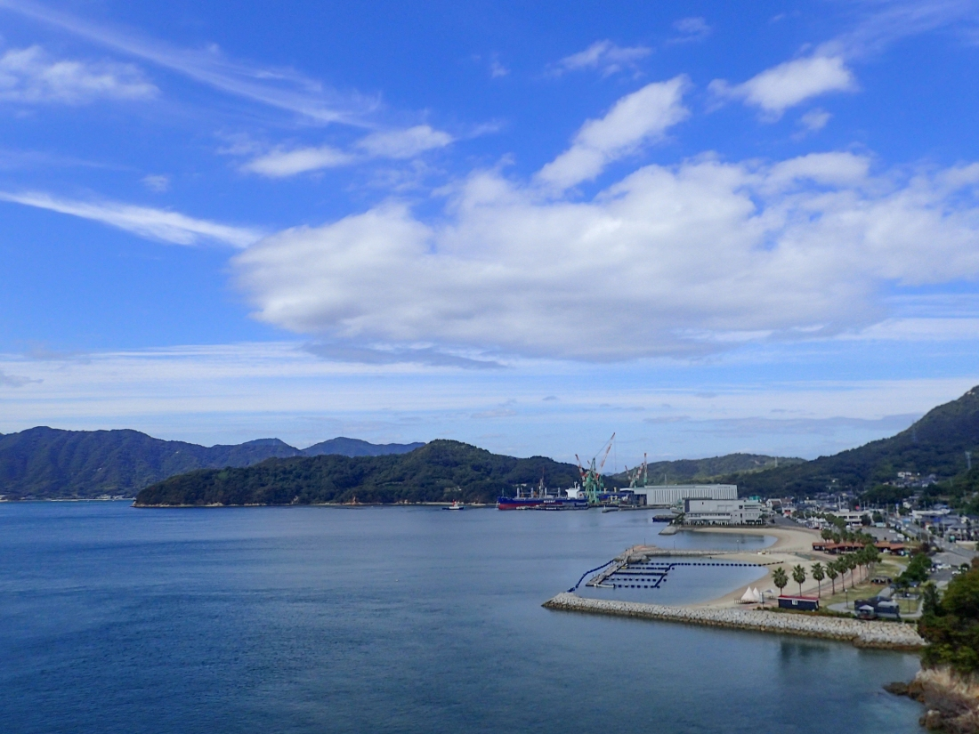 View from the Oshima bridge