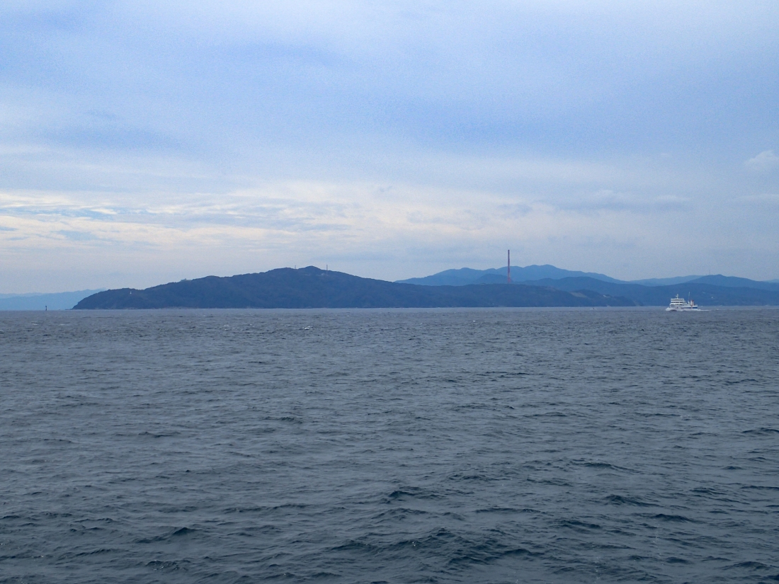On the ferry from Misaki on Shikoku  island to Oita on Kyushu island