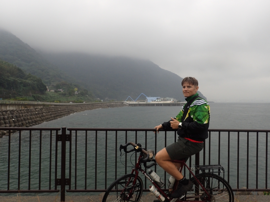 Overcast day for Linford in Oita