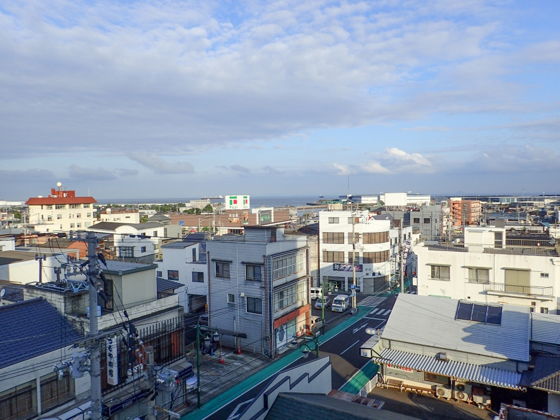 View from the hotel in Shikoku