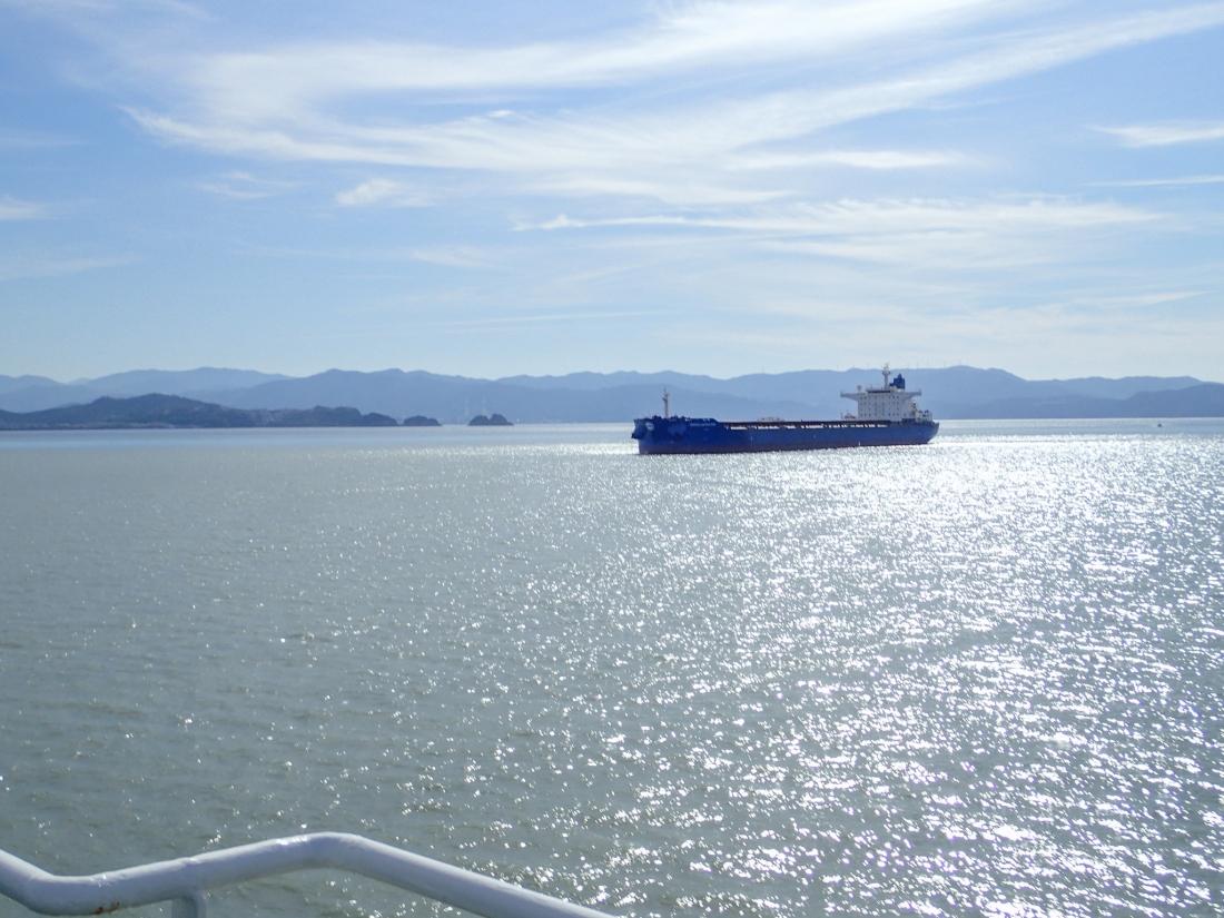 On the Takushima to Wakayama ferry