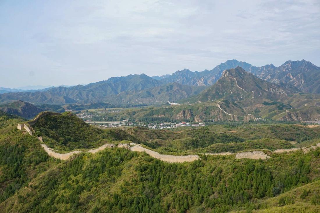 At the Great Wall of China