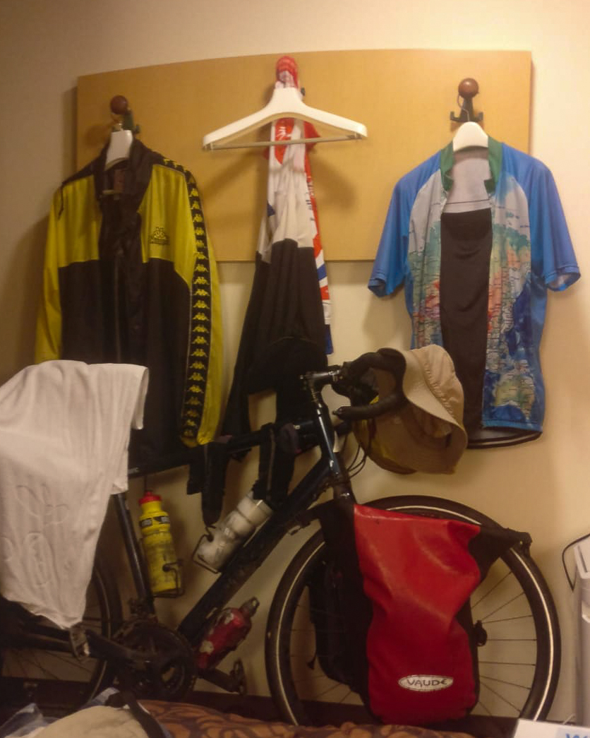 Drying out kit in the hotel room
