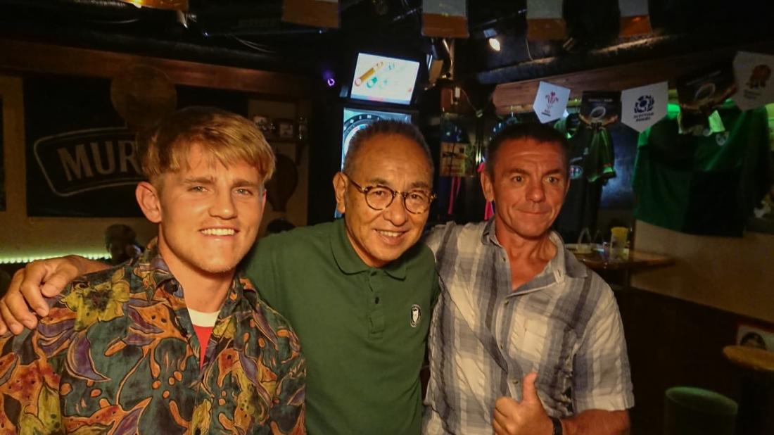 In the Irish Bar