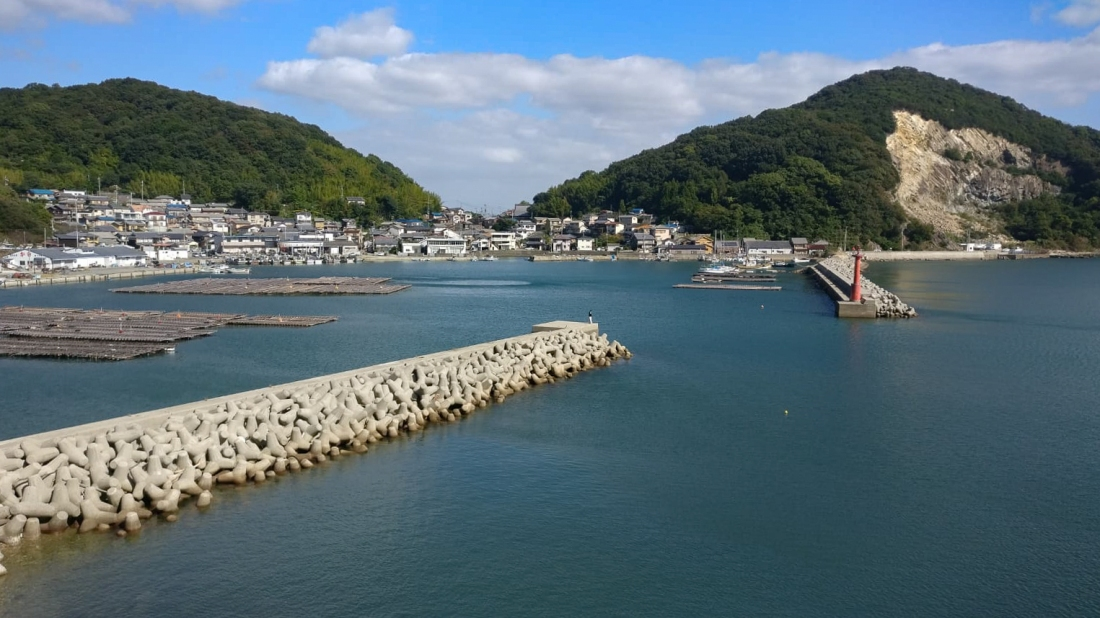 Coastal views near Setouchi