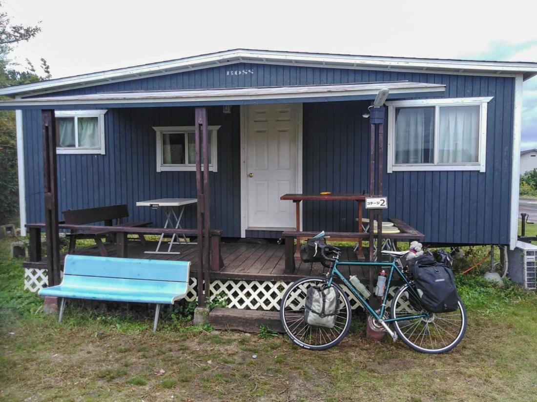 Bike at the homestay