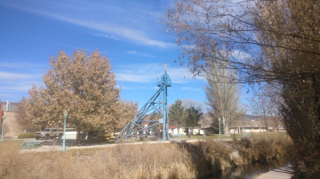 At the Uranium Mining Museum, Aburquerque, NM, USA