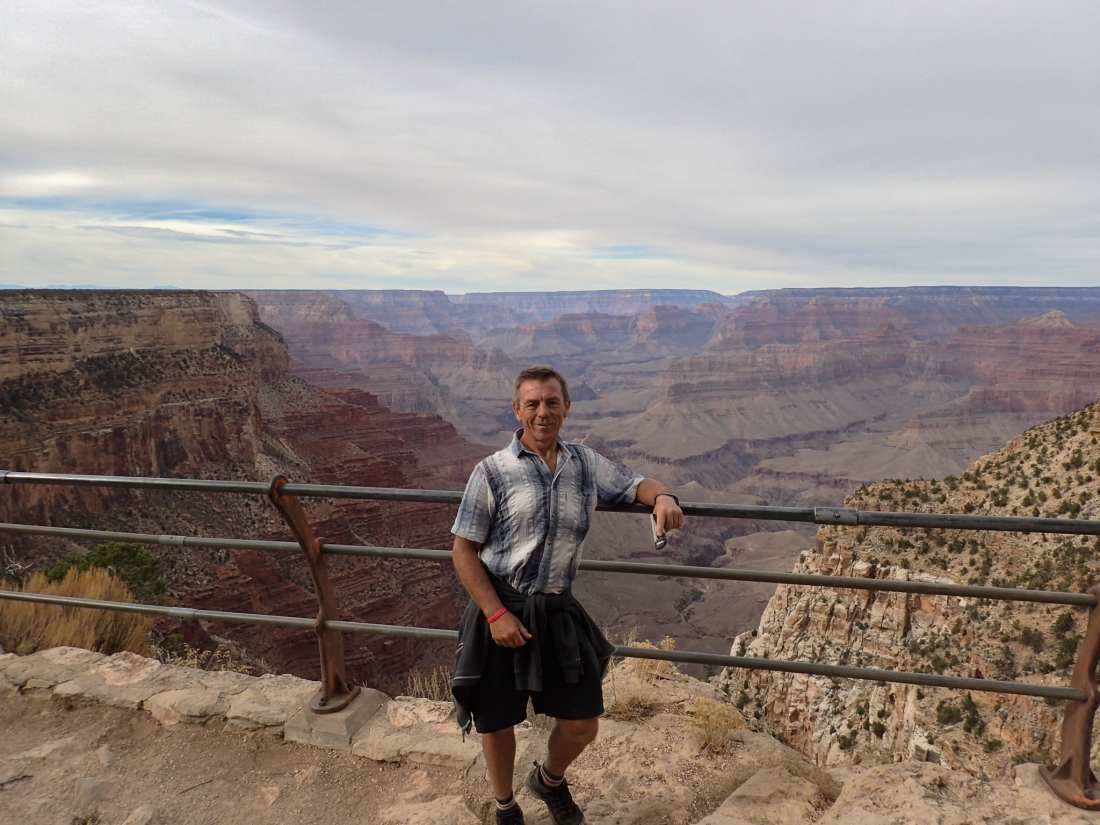 Keith at the Grand Canyon