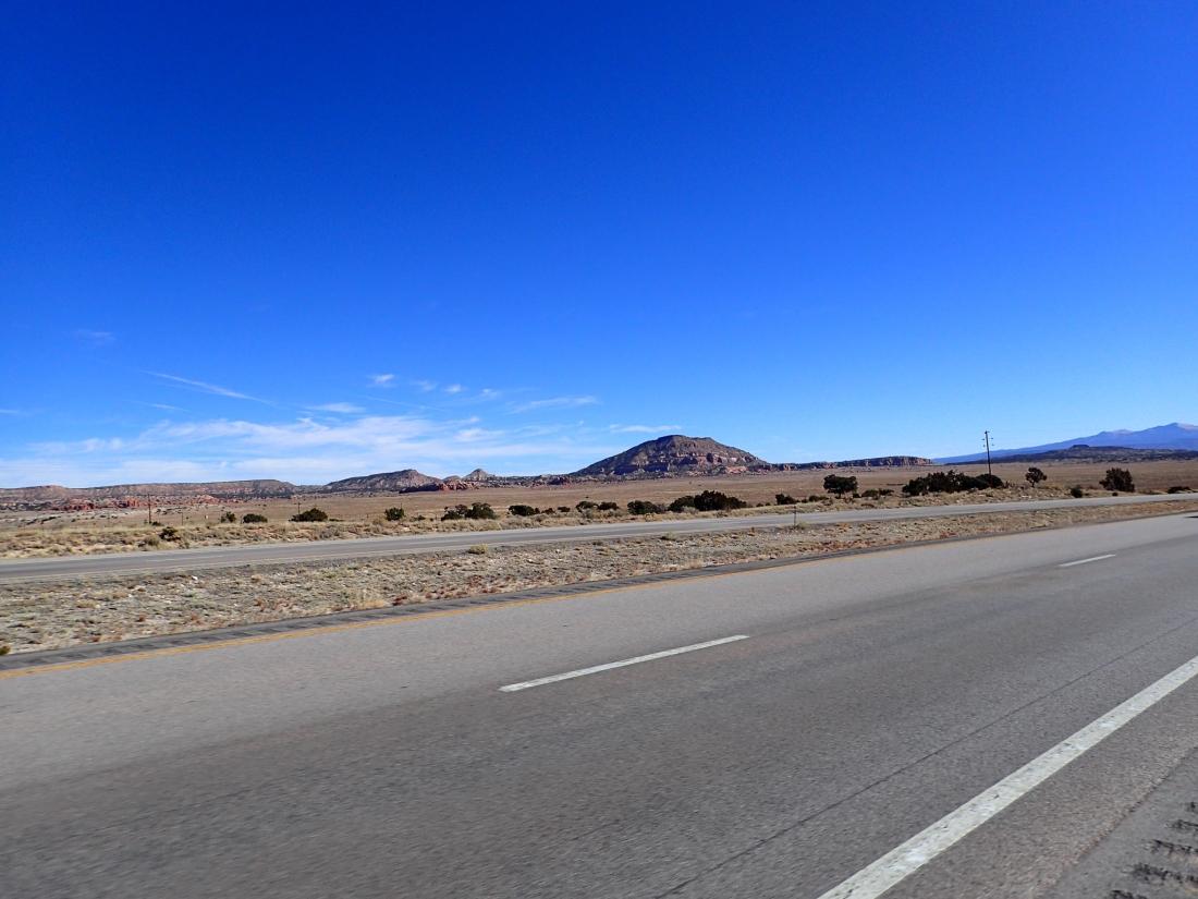 Lumpy high desert
