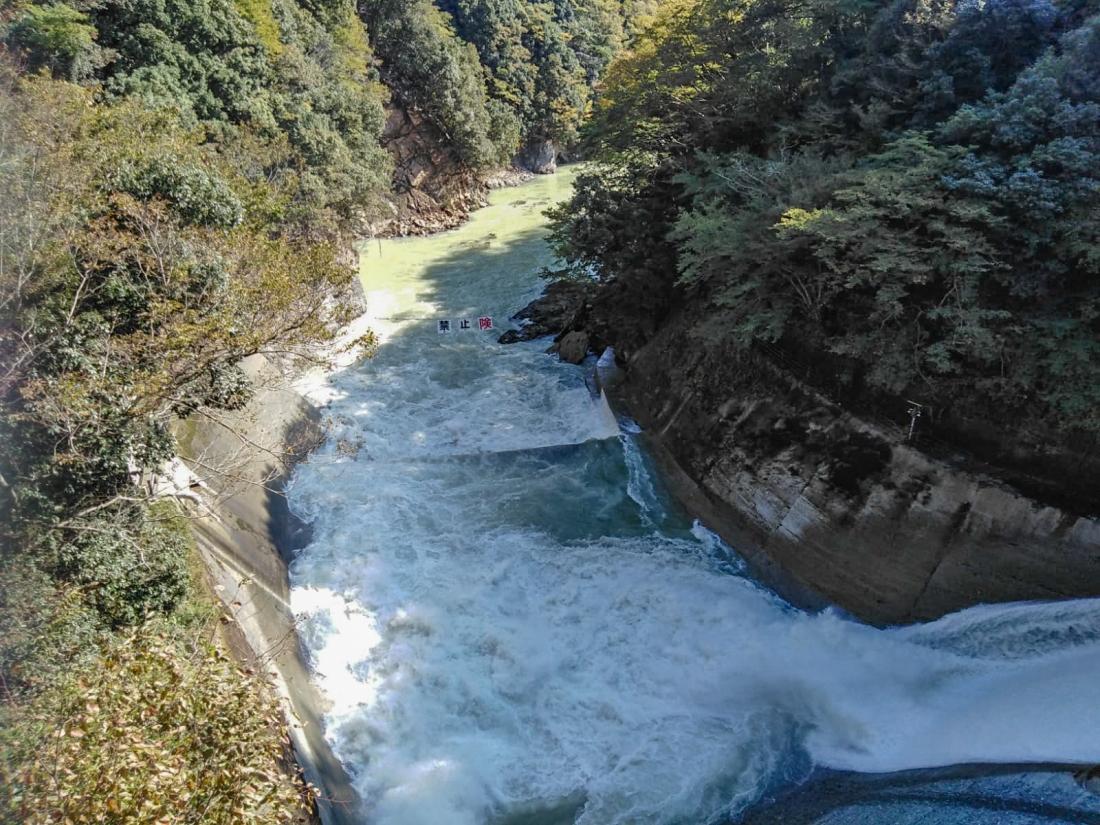 Dam run-off