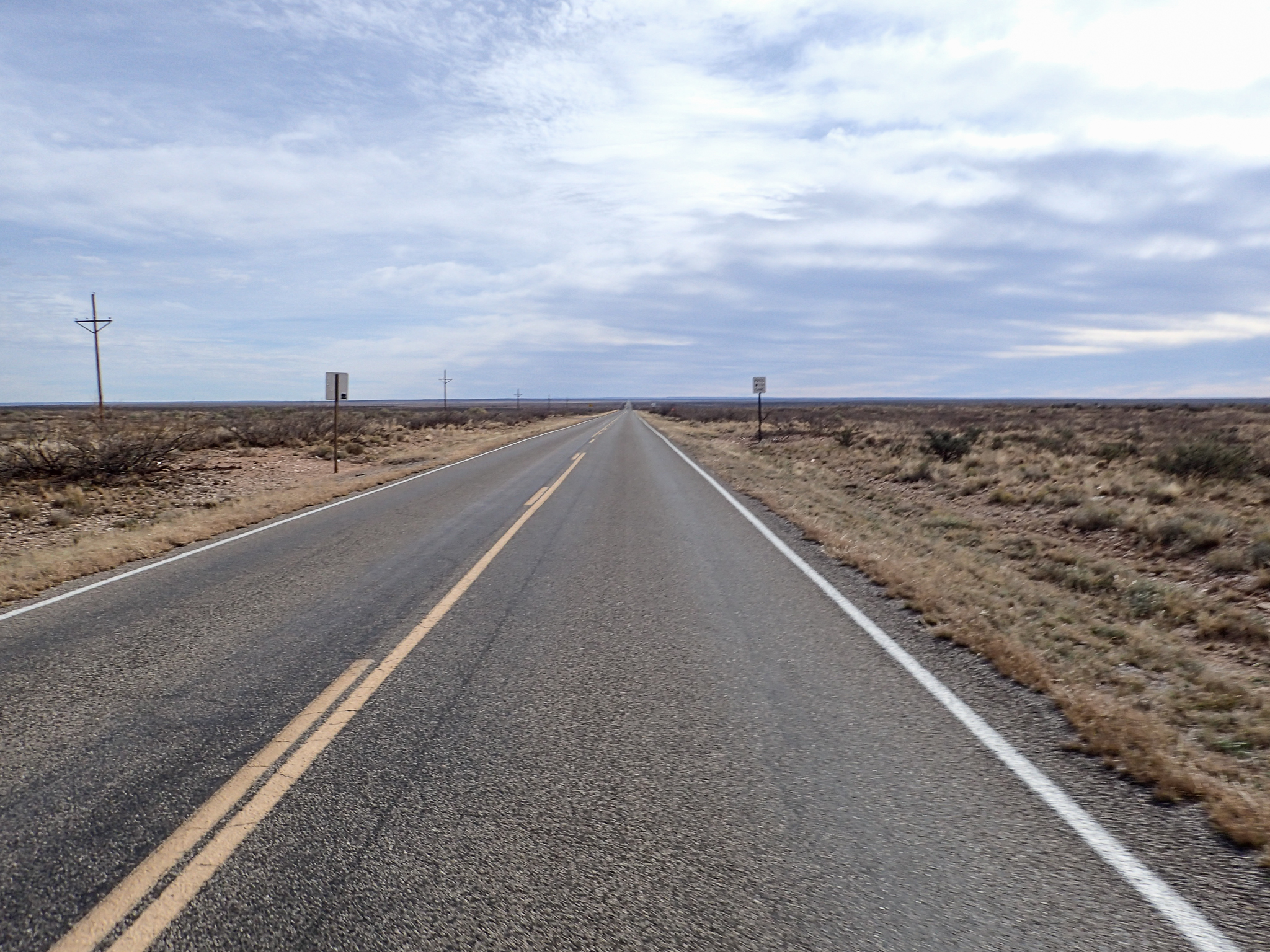 West Texas - long straight roads