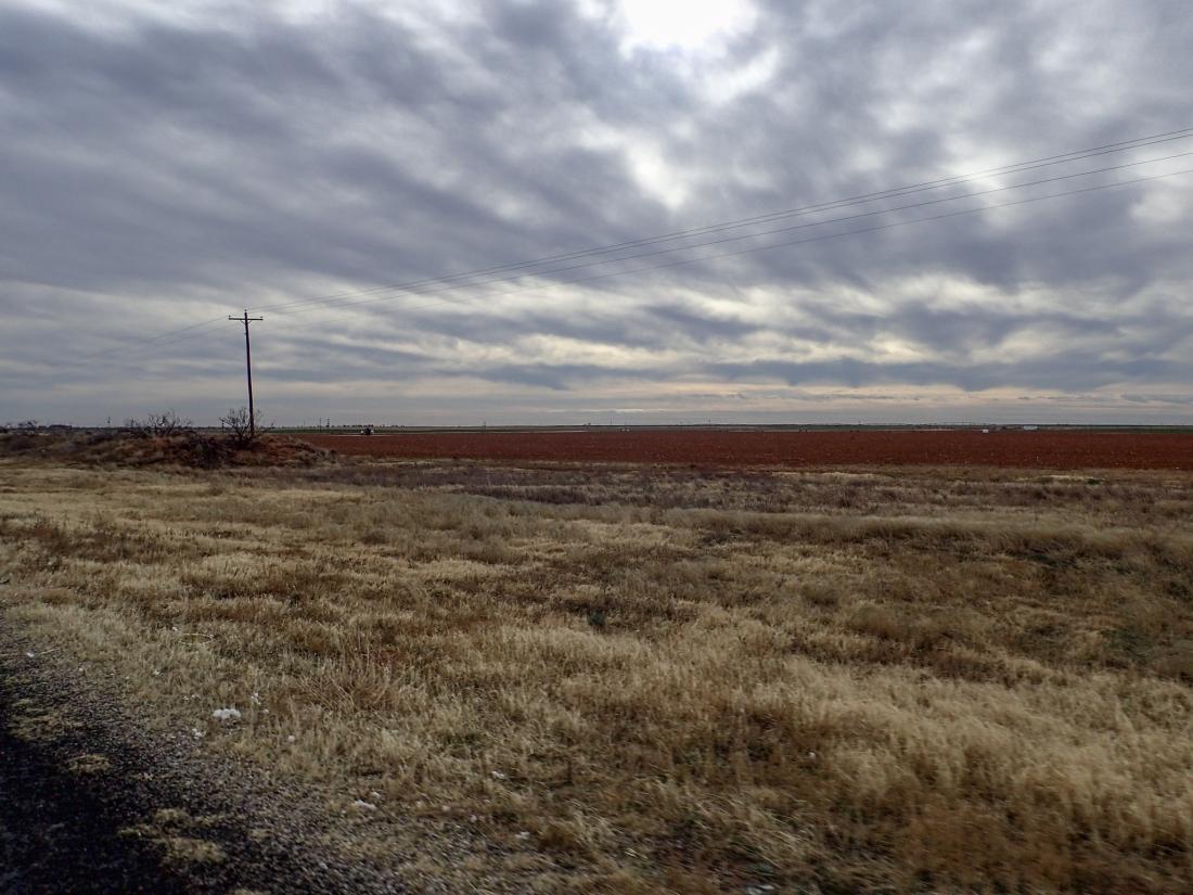Big sky in West Texas