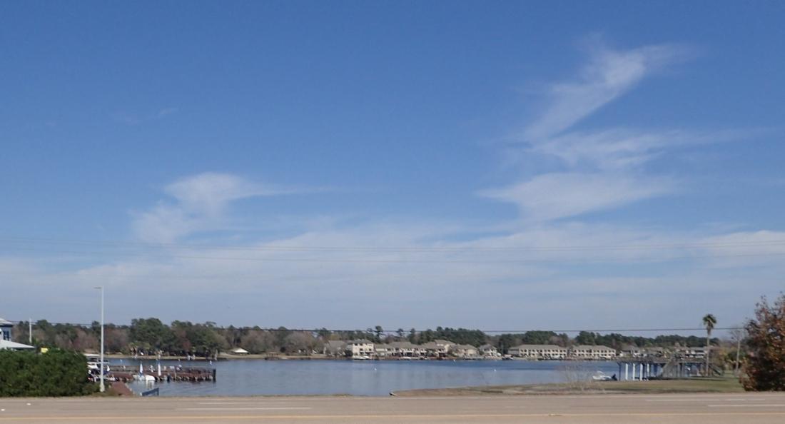 Lake Conroe, east Texas
