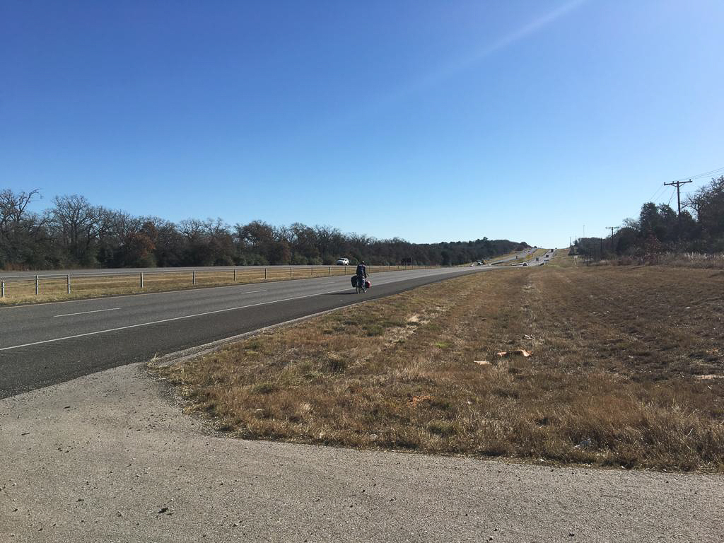 Keith hits the road again and is heading east from Austin, Texas