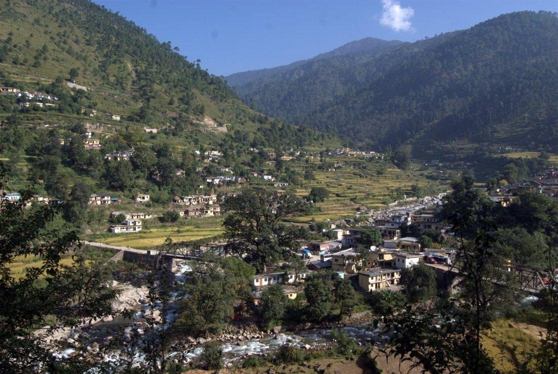 Budha Kedar naar Bhairon Ghati