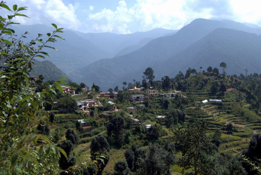 Bhairon Ghati naar Ghuttu
