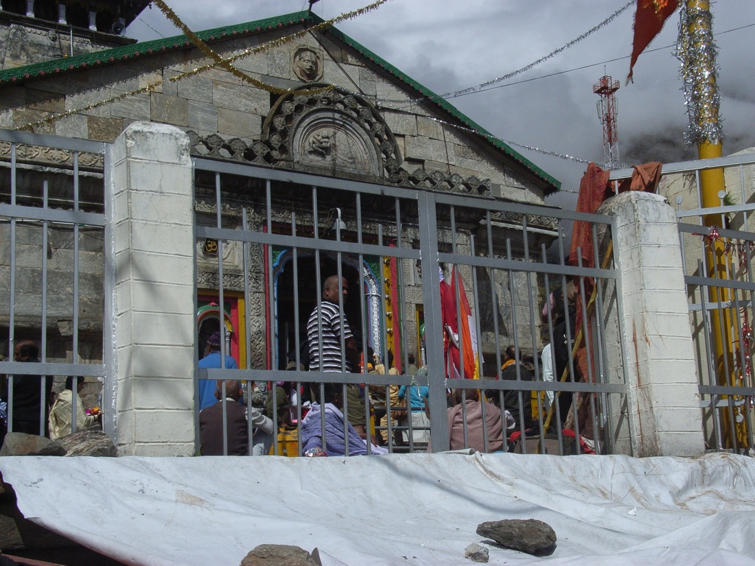 The Temple at Kedarnath, Uttarakhand, India. Trek Day 15