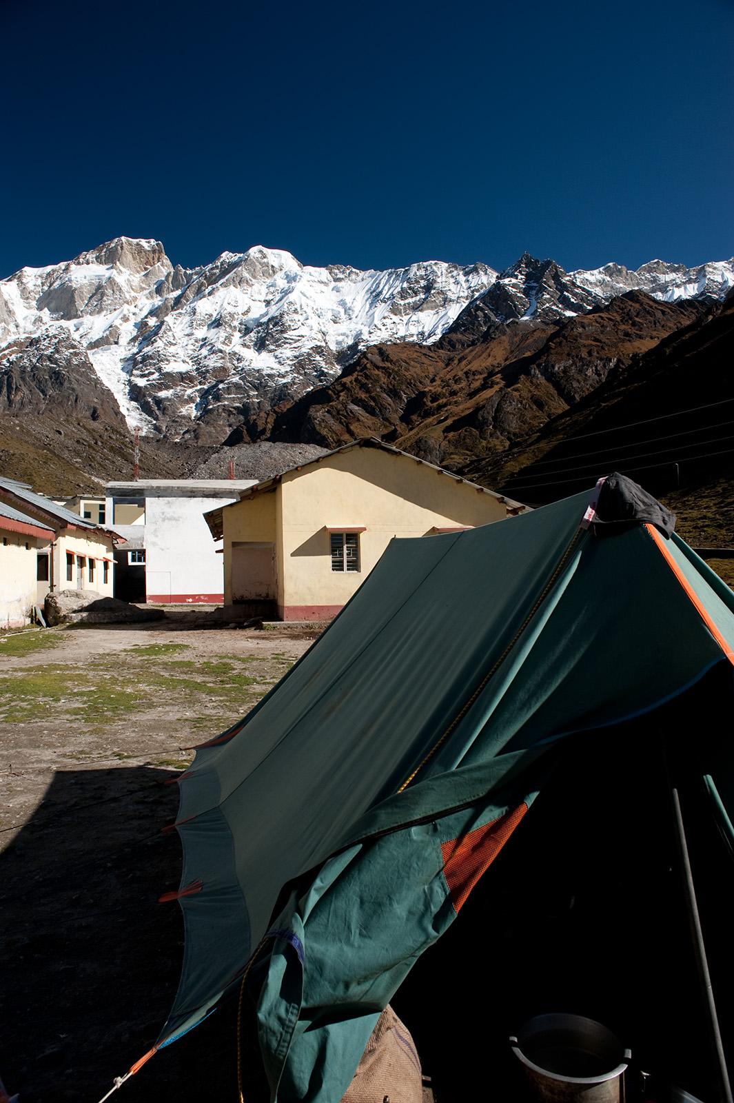 At Kedernath, Uttarakhand, India. Trek Day 16
