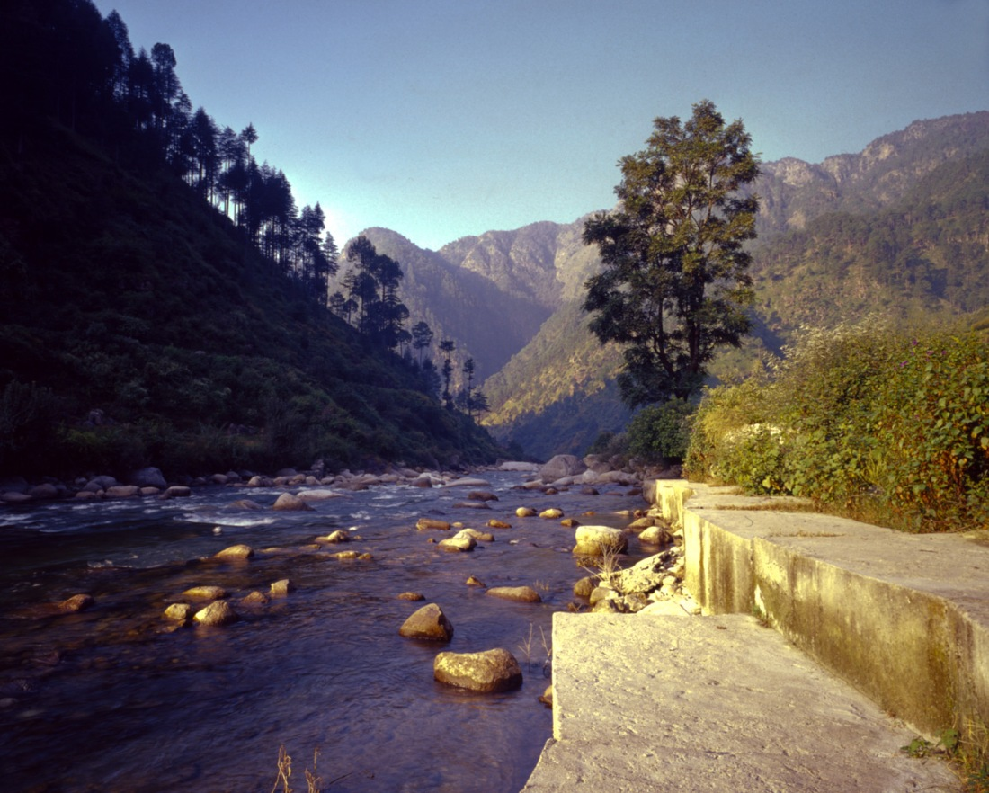 From the campsite at Bhudar Kedar, Uttarakhand, India. Trek Day 8.