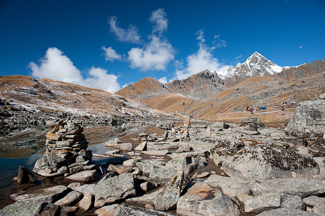 Vasuki Tal, Uttarakhand, India. Trek Day 17