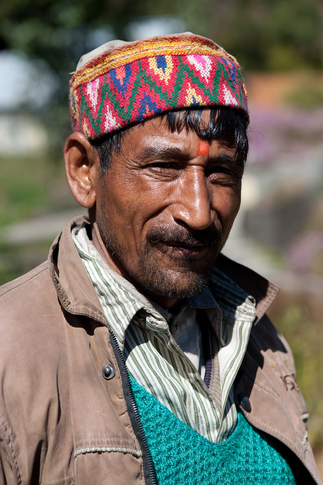 Portraits,  on the way to Rees, Uttarakhand, India. Trek Day 21
