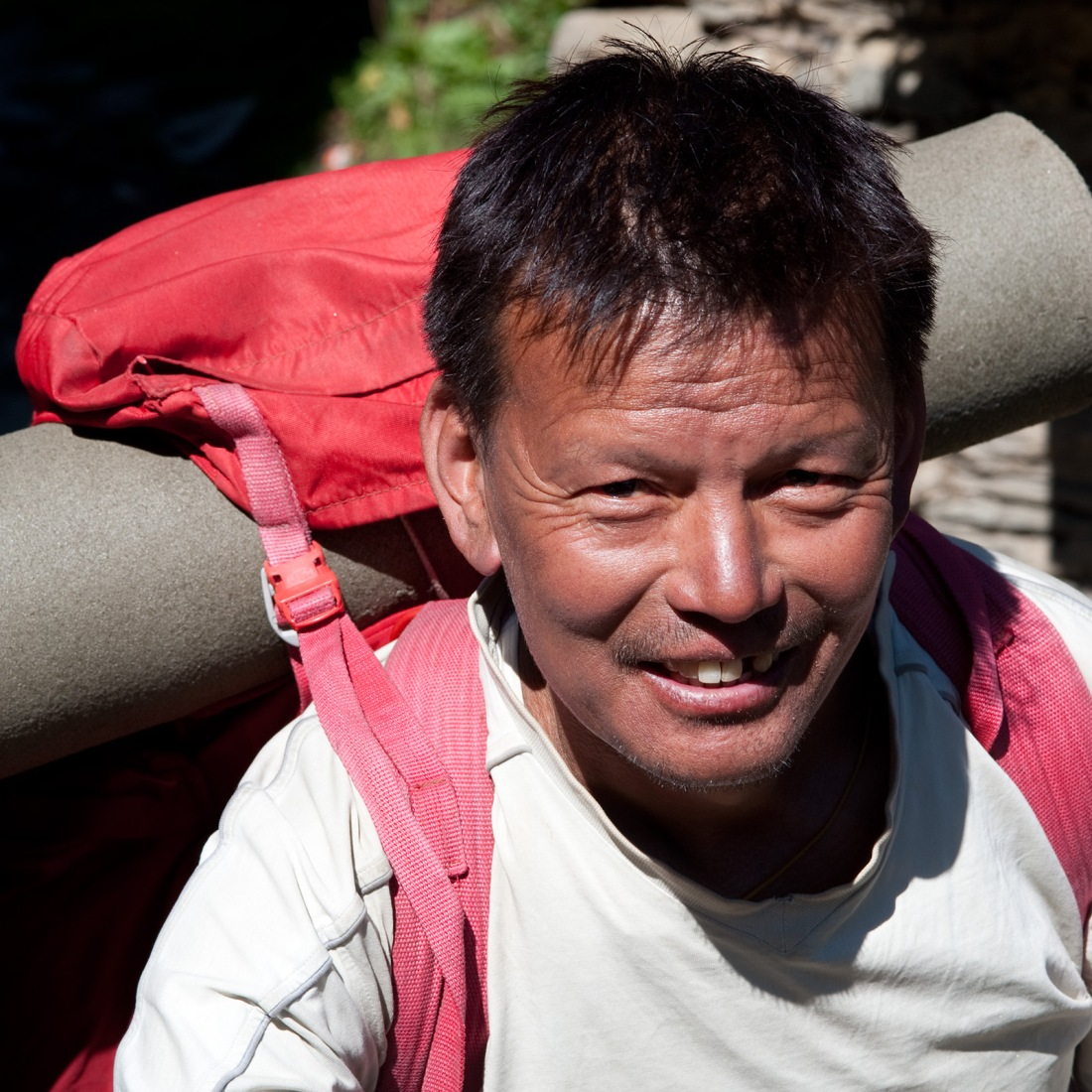 Surosh, our cook  on the way to Rees, Uttarakhand, India. Trek Day 21